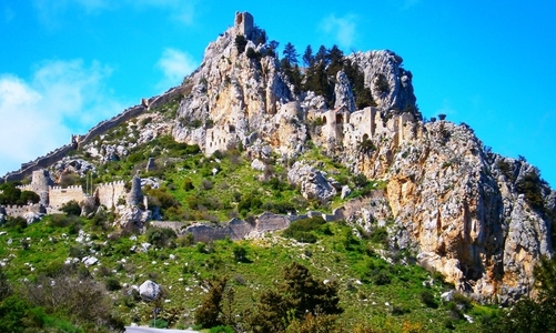St.Hilarion Castle in North Cyprus